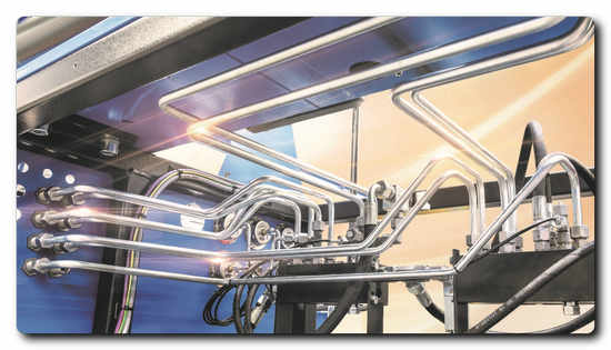 Sophisticated economic production: One-of-a-kind parts for special machines assembly – the first tube segment must be suitable. Photo: PIPE BENDING SYSTEMS