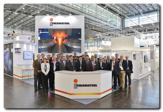 Inductotherm Heating & Welding – Thermatool virtual reality suite at the TUBE 2018 exhibition