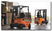 Doosan powers ahead at CV Show 2019