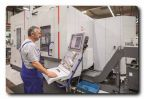 Hermle machining centre C 22 UP with pallet changer in tool making